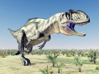 Dinosaurier Yangchuanosaurus