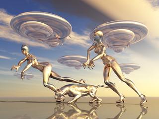 Beautiful Aliens