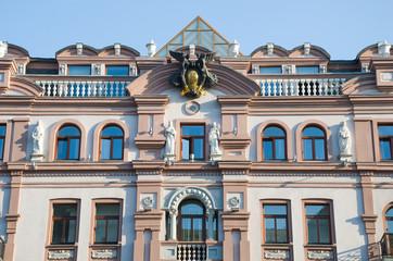 Фасад дома начала двадцатого века