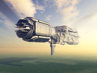 Außerirdisches Raumschiff