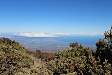 Haleakala Volcano Landscape Maui Hawaii