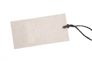 Recyclingpapier-Schild NEUTRAL FREISTELLER