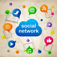 social network 2013_04 - 07 - canvas version