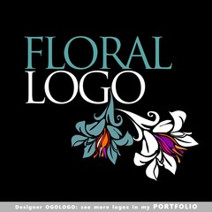 floral logo company