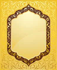 Elegant islamic template design