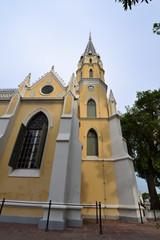 Thai temple in Christian church style