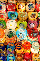 Turkish candle holders