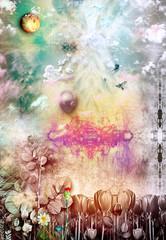 Wall Murals Imagination The secret kingdom - series