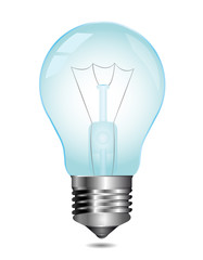 Light bulb. Vector.