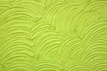 walls rough rough plaster walls green.