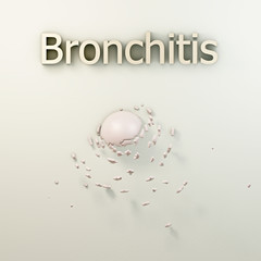 Bronchitis - 3d Render