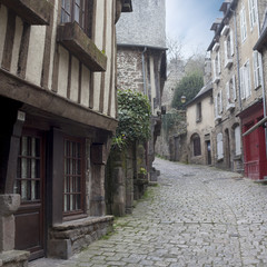 Rue du Jerzual - Dinan - Bretagne
