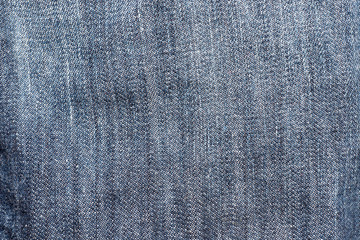 Jeans fabric as background or texture