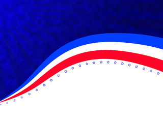 Independence day abstract background