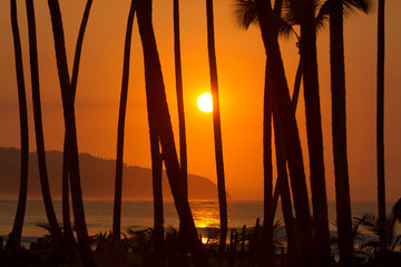 caribbean sunset 002