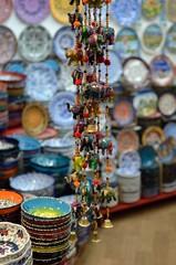 Pendant trinkets at grand bazaar, Istanbul