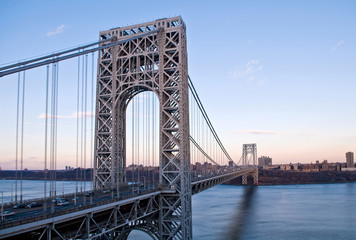 George Washington Bridge, new york. N.Y