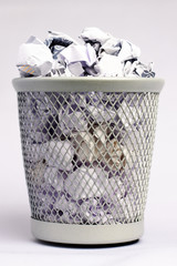 Full paper bin