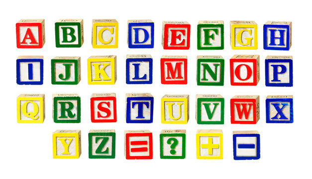 Toy letters