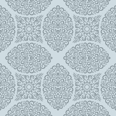 Seamless pattern. Curl pattern background.