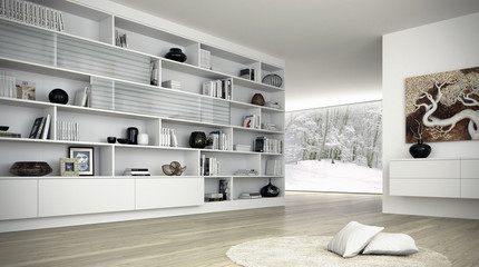 Ambiente bianco invernale