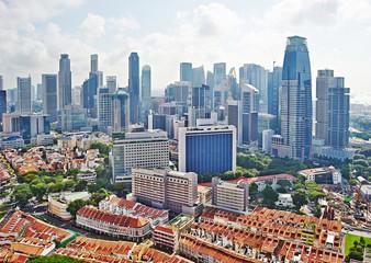 Foto op Canvas Singapore Singapore cityscape