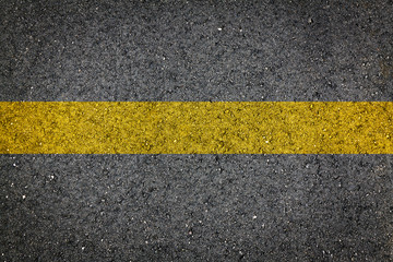 Asphalt Road Background or Texture