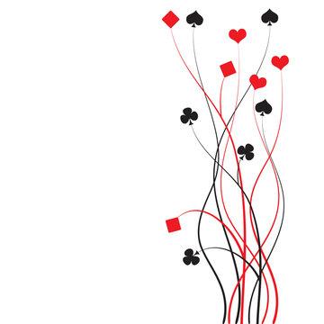 poker, bridge - card game