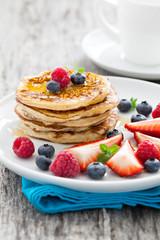 frische Pancakes