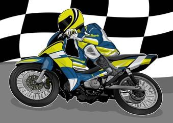 Keuken foto achterwand Motorfiets motorcycle racing