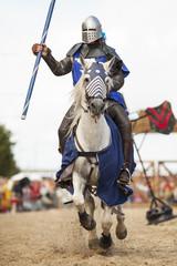 Printed kitchen splashbacks Knights knights jousting