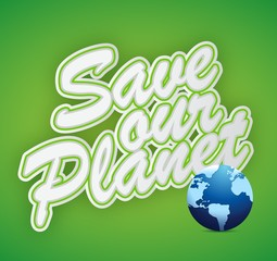 save the planet. earth day