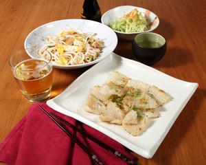 menu di pesce giapponese