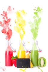 frisches spritziges Sommergetränk