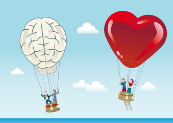 Reason and Emotion Balloons