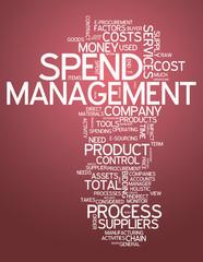 "Word Cloud ""Spend Management"""