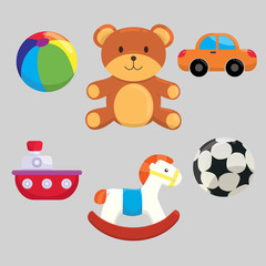 Cute Children Toys Collection