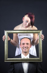 Brautpaar albert herum