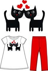 children fashion industry cats