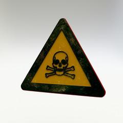 Warning Sign - Toxic Material