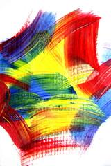 Vivid playful strokes background