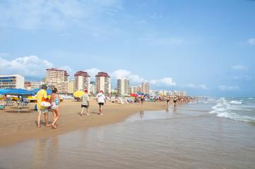 Beach of Gandia,Spain