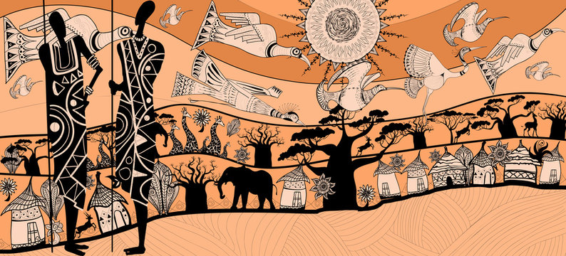 composition about africa