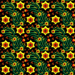 Seamless floral background 2