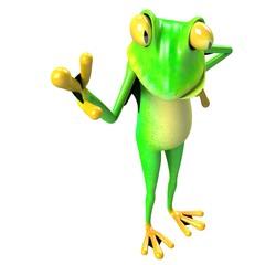 funny frog, crazy frog , super frog , hero frog