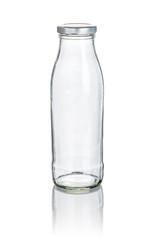 leere Milchflasche