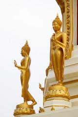 Double gold buddha