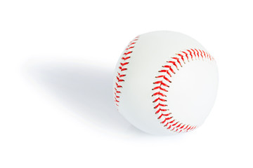 abseball ball isolated
