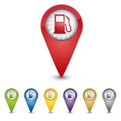 Map Pin - Tankstelle - Guthaben aufladen
