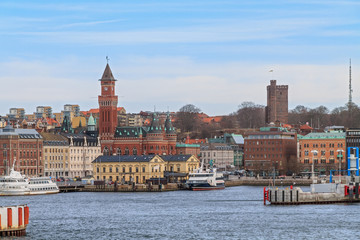 The port of Helsingborg